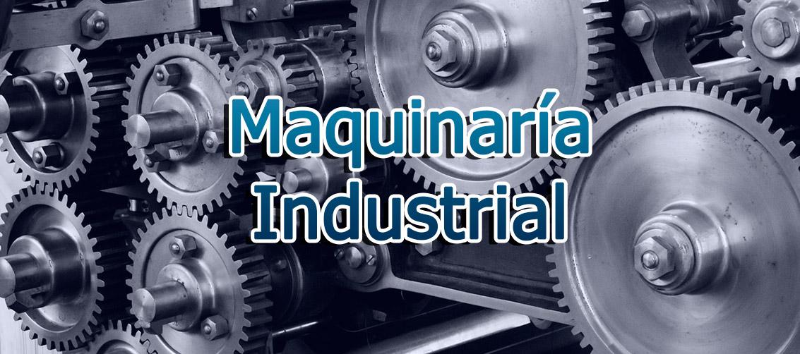 Fabricación de maquinaria industrial. Especialistas en alimentación.