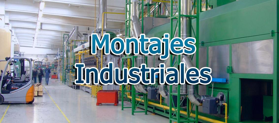 Fabricación de montajes industriales. Especialistas en alimentación.